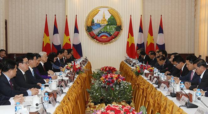 Nâng cao hiệu quả hợp tác Việt Nam - Lào