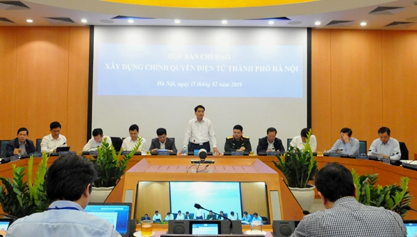 100% người dân, doanh nghiệp Hà Nội sẽ được cung cấp dịch vụ công mức độ 3, 4