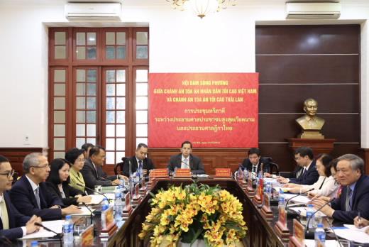 Thúc đẩy hợp tác giữa Tòa án hai nước Việt Nam – Thái Lan