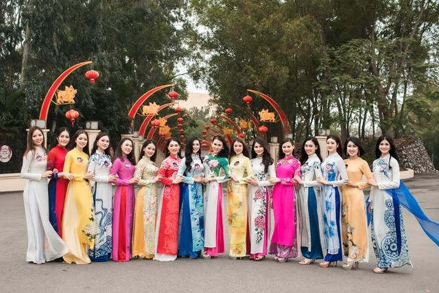Thí sinh Người đẹp Kinh Bắc 2019 hoàn thành các phần thi phụ