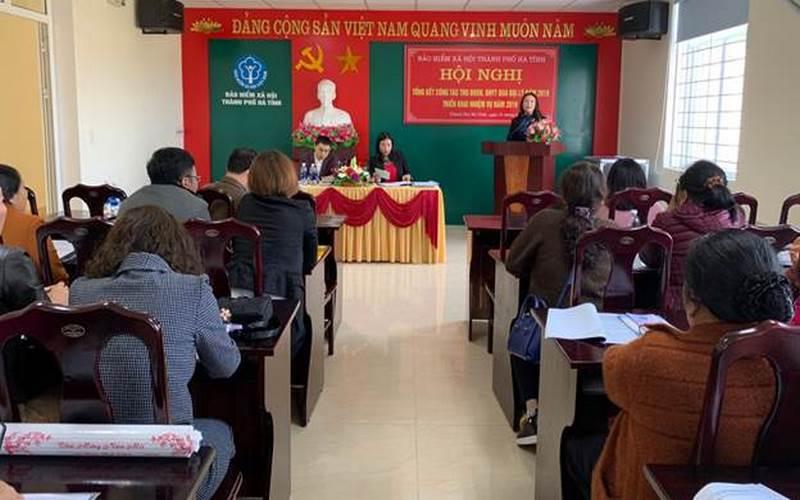 BHXH TP Hà Tĩnh: Tăng cường tuyên truyền, phát triển đối tượng tham gia BHXH tự nguyện