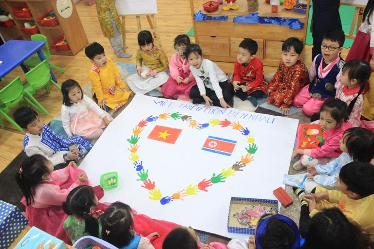 Trường mẫu giáo Việt Triều - Biểu tượng của tình hữu nghị giữa Việt Nam và Triều Tiên