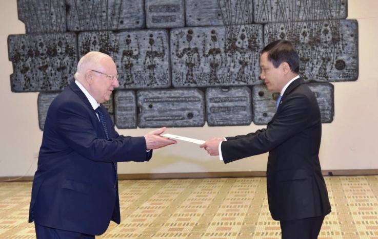 Thúc đẩy hơn nữa quan hệ hợp tác Việt Nam - Israel