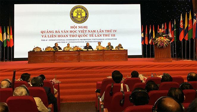 Khai mạc Hội nghị quảng bá văn học Việt Nam lần thứ IV