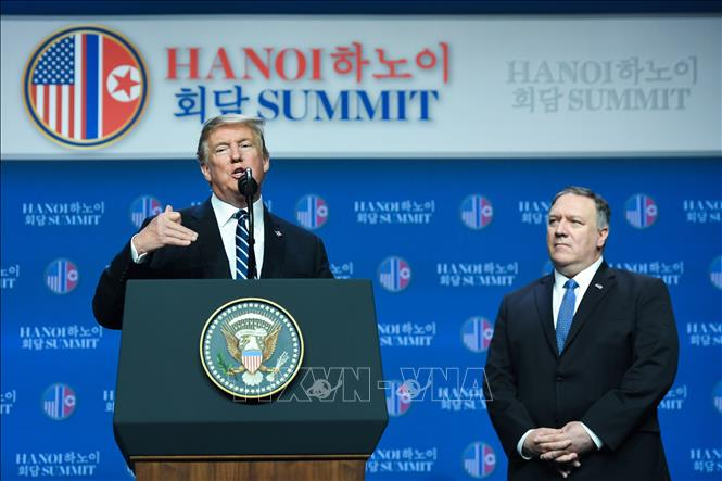 Hội nghị Thượng đỉnh Hoa Kỳ - Triều Tiên lần hai không đạt được thỏa thuận