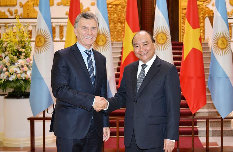 Quan hệ  Việt Nam – Argentina tiếp tục phát triển hiệu quả