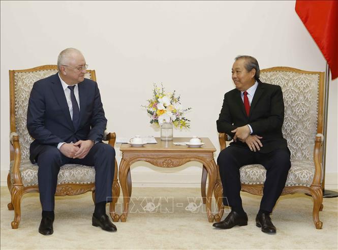 Phó Chủ tịch Cơ quan Chống tham nhũng trực thuộc Tổng thống Liên bang Nga thăm Việt Nam