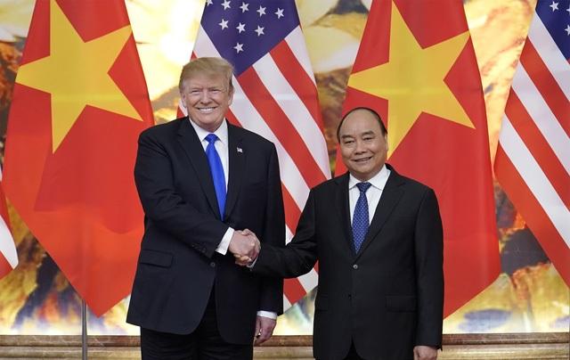 Tổng thống Donald Trump cảm ơn Việt Nam