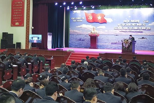 Cục Chính trị Hải quân học tập, quán triệt nhiệm vụ năm 2019
