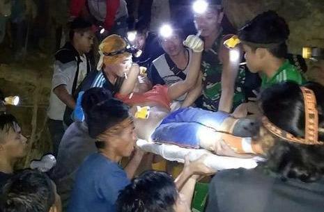 Sập mỏ vàng ở Indonesia, ít nhất 3 người thiệt mạng, còn khoảng 60 người bị vùi lấp