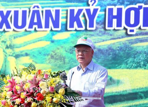 """Phát động """"Tết trồng cây đời đời nhớ ơn Bác Hồ"""" Xuân Kỷ Hợi 2019"""