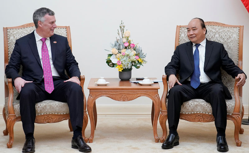 Boeing mong muốn được hợp tác nhiều hơn nữa với Việt Nam