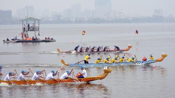 Lễ hội Bơi chải thuyền rồng Hà Nội mở rộng 2019