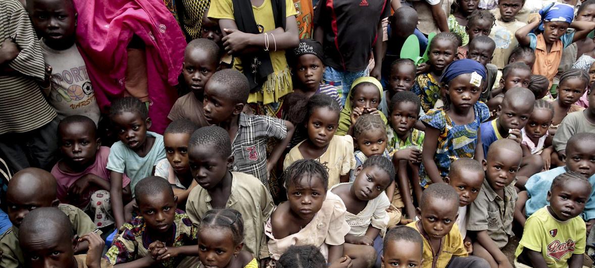 UNICEF nỗ lực bảo vệ trẻ em Cộng hòa Trung Phi