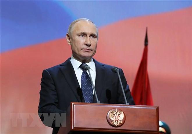 Tổng thống Nga Putin quyết định ngừng tuân thủ hiệp ước INF