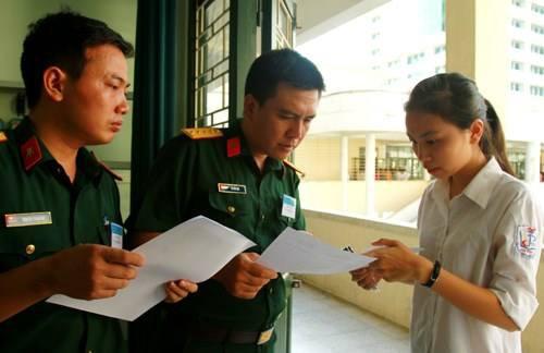 Công bố phương án tuyển sinh vào các trường Quân đội năm 2019