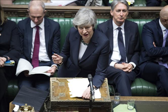 Quốc hội Anh bác kiến nghị của Thủ tướng về Brexit