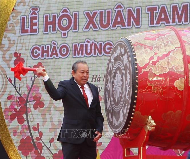 Phó Thủ tướng Trương Hòa Bình dự Lễ khai hội Chùa Tam Chúc