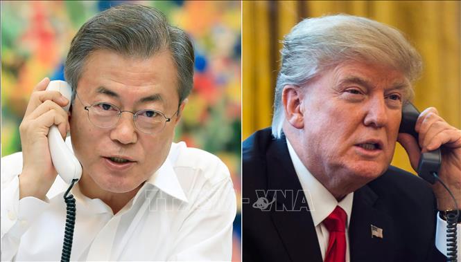 """Hàn Quốc tuyên bố sẵn sàng """"chia sẻ gánh nặng"""" với Mỹ thúc đẩy phi hạt nhân hóa"""