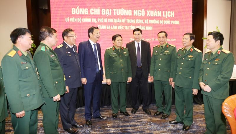 Xây dựng Quảng Ninh thành khu vực phòng thủ vững chắc