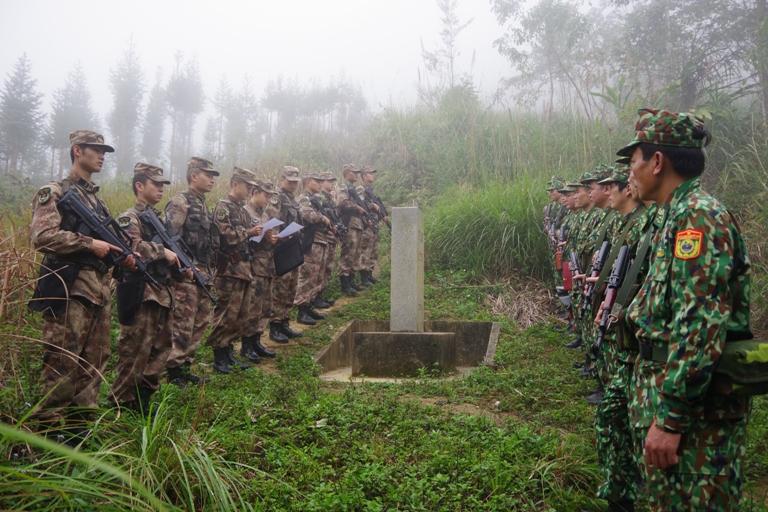 Việt Nam - Trung Quốc tuần tra song phương trên biên giới Lào Cai
