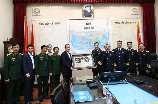Phối hợp hiệp đồng chặt chẽ giữa Thành phố Hà Nội và Bộ Tư lệnh Hải quân