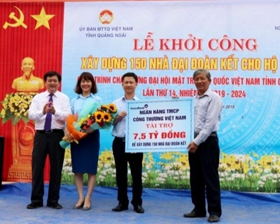 Quảng Ngãi: Xây dựng 150 nhà Đại đoàn kết cho hộ nghèo  