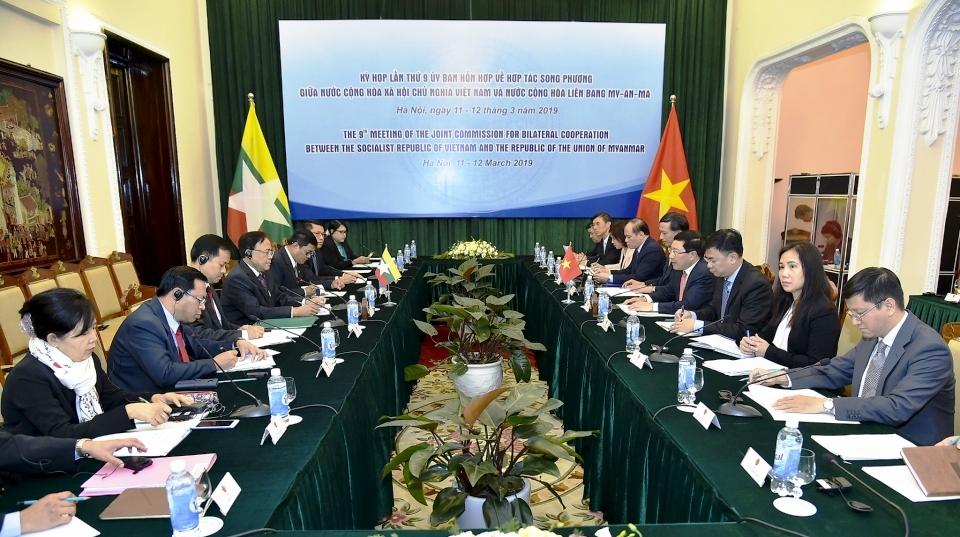 Đưa quan hệ Đối tác Hợp tác Toàn diện Việt Nam-Myanmar ngày càng đi vào chiều sâu