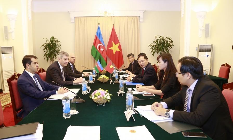 Quan hệ hữu nghị truyền thống Việt Nam - A-déc-bai-gian phát triển tích cực