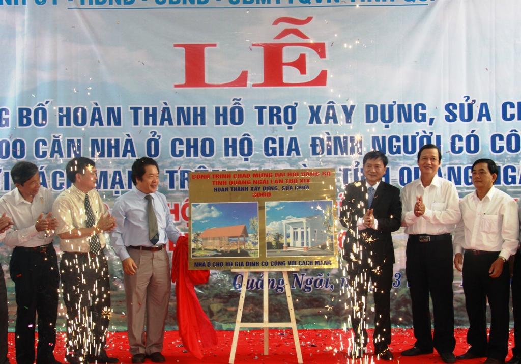 Quảng Ngãi: Hỗ trợ 400 triệu xây nhà tình nghĩa cho người có công khu vực biên giới biển