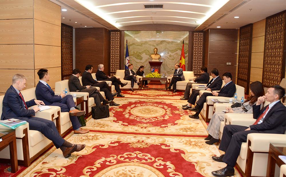 Macquarie đề nghị hợp tác với EVN để phát triển dự án điện gió tại Việt Nam