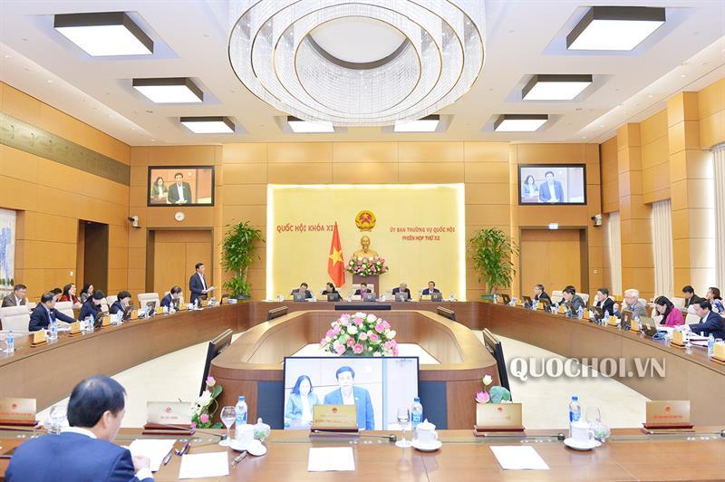 Công bố 04 Nghị quyết của Ủy ban Thường vụ Quốc hội
