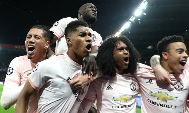 Man Utd giành chiến thắng nghẹt thở tại Paris