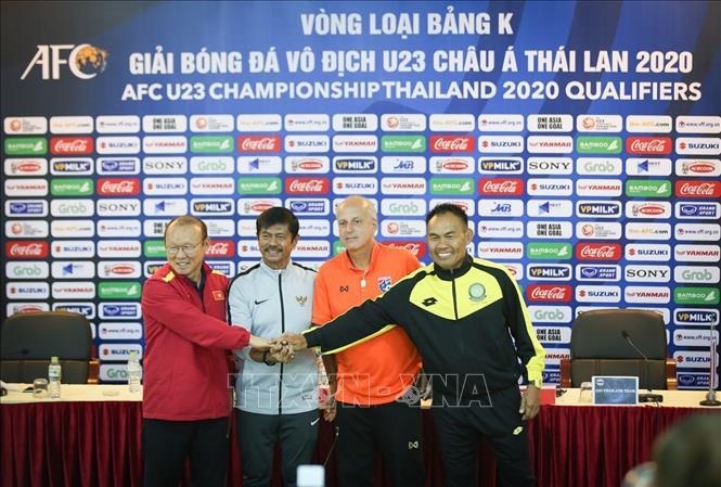 Giải U23 châu Á 2020: Các đội bóng bảng K đã sẵn sàng đấu vòng loại tại Hà Nội