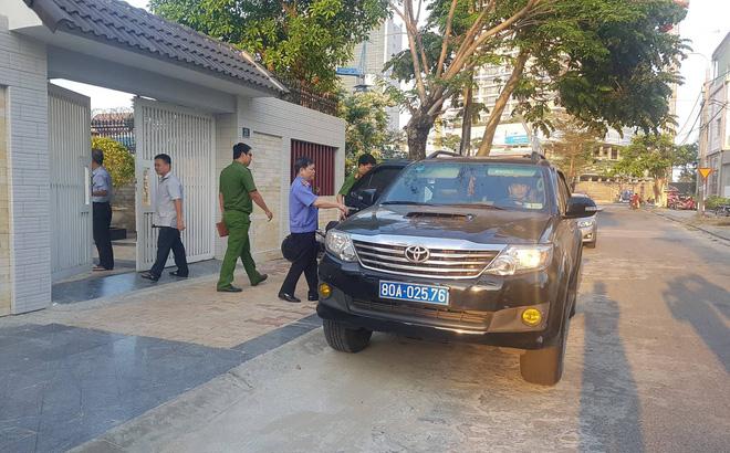 Khởi tố, khám nhà nguyên lãnh đạo Sở Tài chính Đà Nẵng