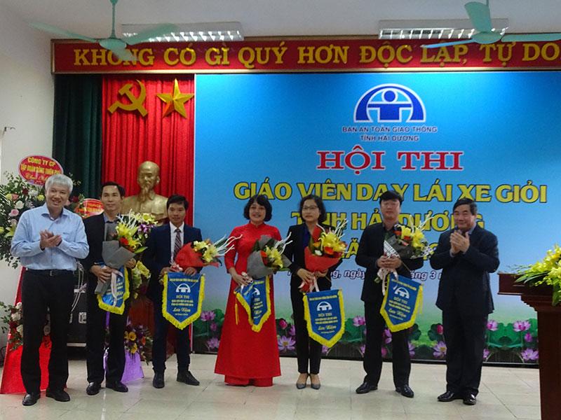 Hội thi giáo viên dạy lái xe giỏi tỉnh Hải Dương 2019