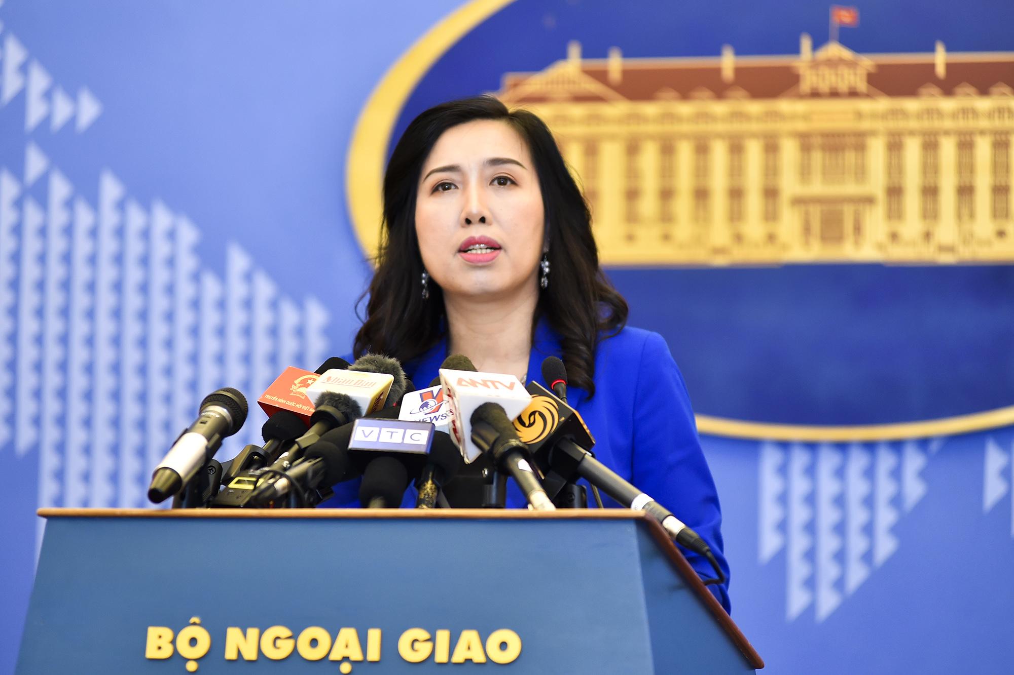 Việt Nam kiên quyết phản đối việc Đài Loan diễn tập bắn đạn thật ở đảo Ba Bình