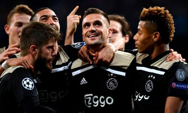 Ngược dòng ngoạn mục, Ajax kéo sập Bernabeu