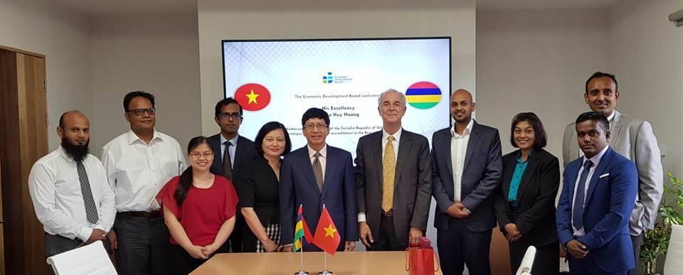 Mauritius coi trọng quan hệ hợp tác, hữu nghị với Việt Nam