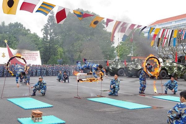 Lữ đoàn 147, Vùng 1 Hải quân quyết tâm thực hiện thắng lợi các chỉ tiêu thi đua
