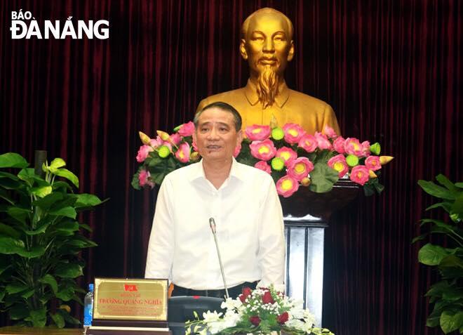 Đà Nẵng bầu Chủ nhiệm Ủy ban Kiểm tra Thành ủy