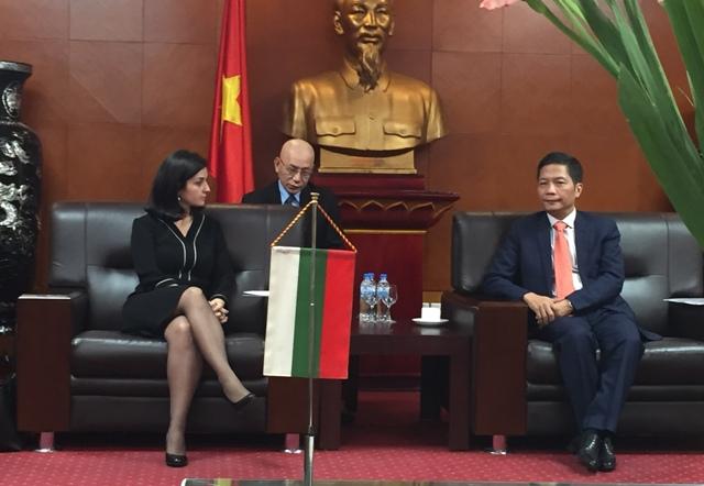 Tăng cường hợp tác kinh tế, thương mại với Bungari