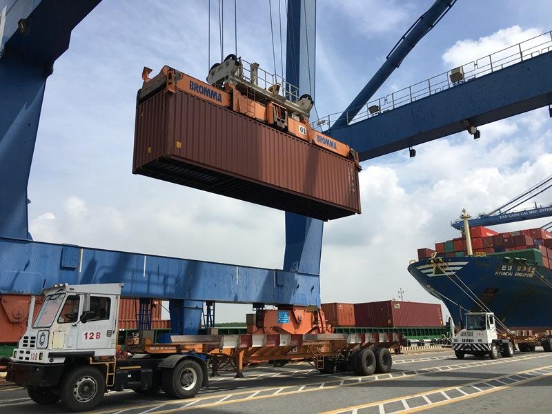 Bà Rịa-Vũng Tàu: Kim ngạch xuất khẩu đạt gần 690 triệu USD