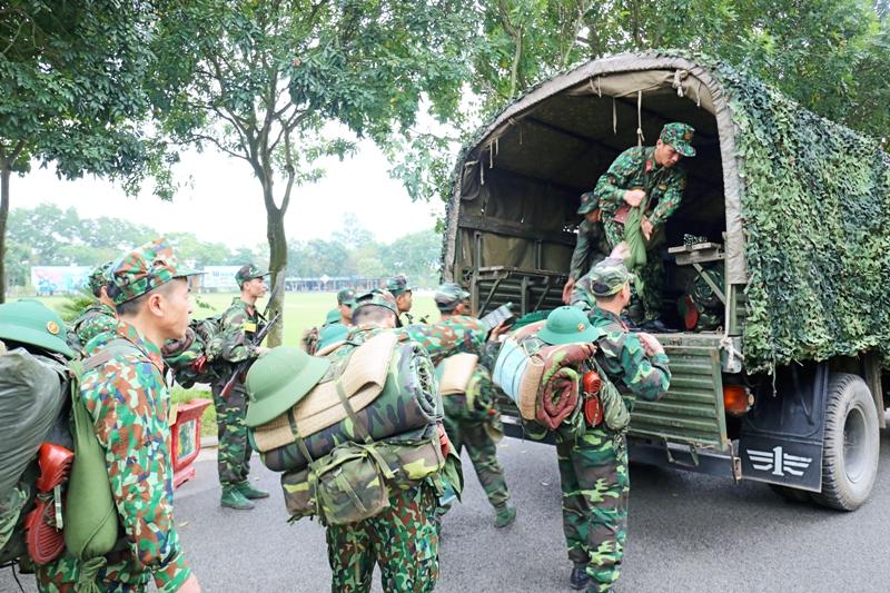 Bộ Quốc phòng kiểm tra luyện tập chuyển trạng thái sẵn sàng chiến đấu tại Hải Phòng