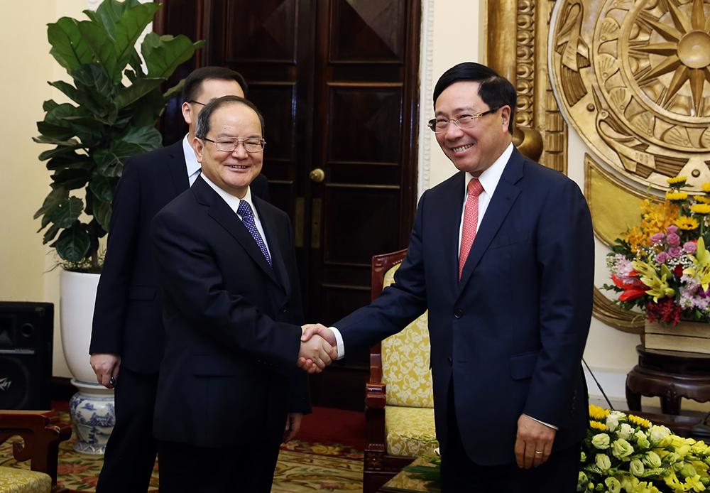 Quan hệ Việt Nam - Trung Quốc phát triển tích cực
