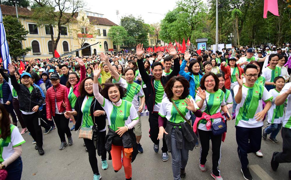 Phát động hưởng ứng Ngày chạy Olympic vì sức khỏe toàn dân