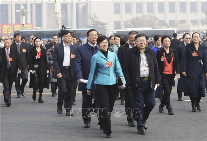 Trung Quốc khai mạc Hội nghị Chính trị Hiệp thương nhân dân lần thứ hai khóa XIII