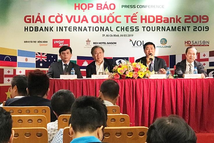 Hơn 300 kỳ thủ dự giải Cờ vua quốc tế HDBank 2019