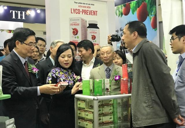 Nhiều sản phẩm dược liệu và y học cổ truyền được giới thiệu tại Hà Nội