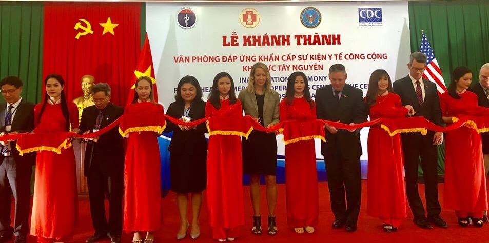 Khánh thành Văn phòng đáp ứng khẩn cấp sự kiện y tế công cộng khu vực Tây Nguyên